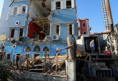 About 300,000 Left Homeless by Beirut Explosion